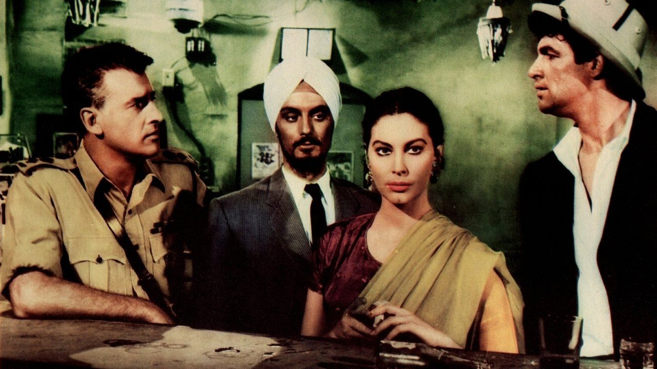 Bhowani Junction (1956) Old hollywood movies, Ava