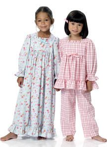 e67ff86878ce New Sewing Patterns | Butterick Patterns. Girls nightgown and pajamas  sewing pattern