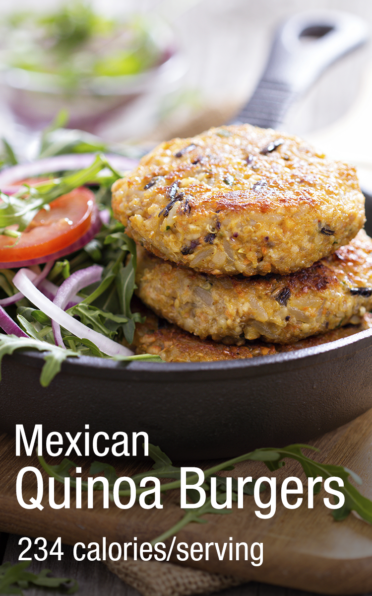Mexican quinoa burger recipe to satisfy the taste buds