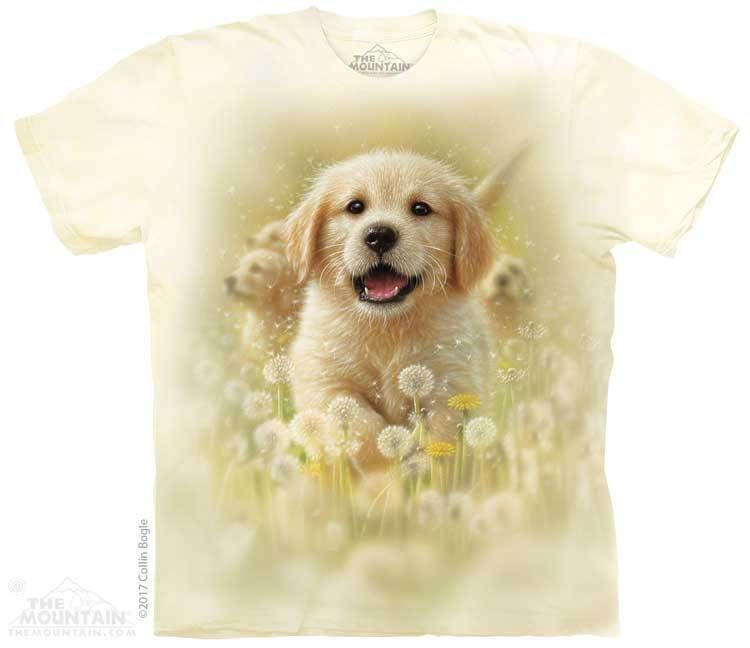 Yellow Lab Puppy In My Arms Baby T Shirt Golden Retriever