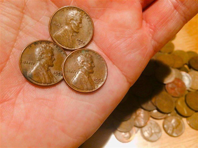 1958 Wheat Penny Values - See If You Have The Rare 1958