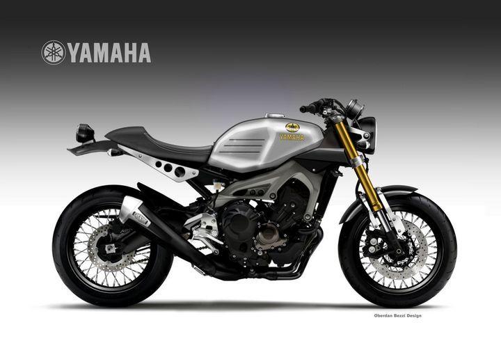 Yamaha Xsr900 Cafe Racer Oberdan Bezzi 2
