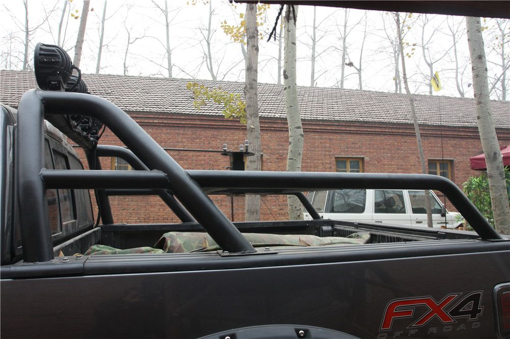 With Markroad Roll Bar Installed On F 150 Fx4 Truck Accessories Customised Trucks Pickup Trucks