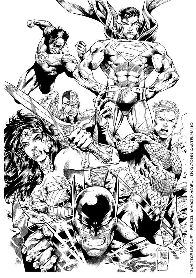 Justice League by Marcio Abreu | Márcio Abreu | Pinterest | Justice ...