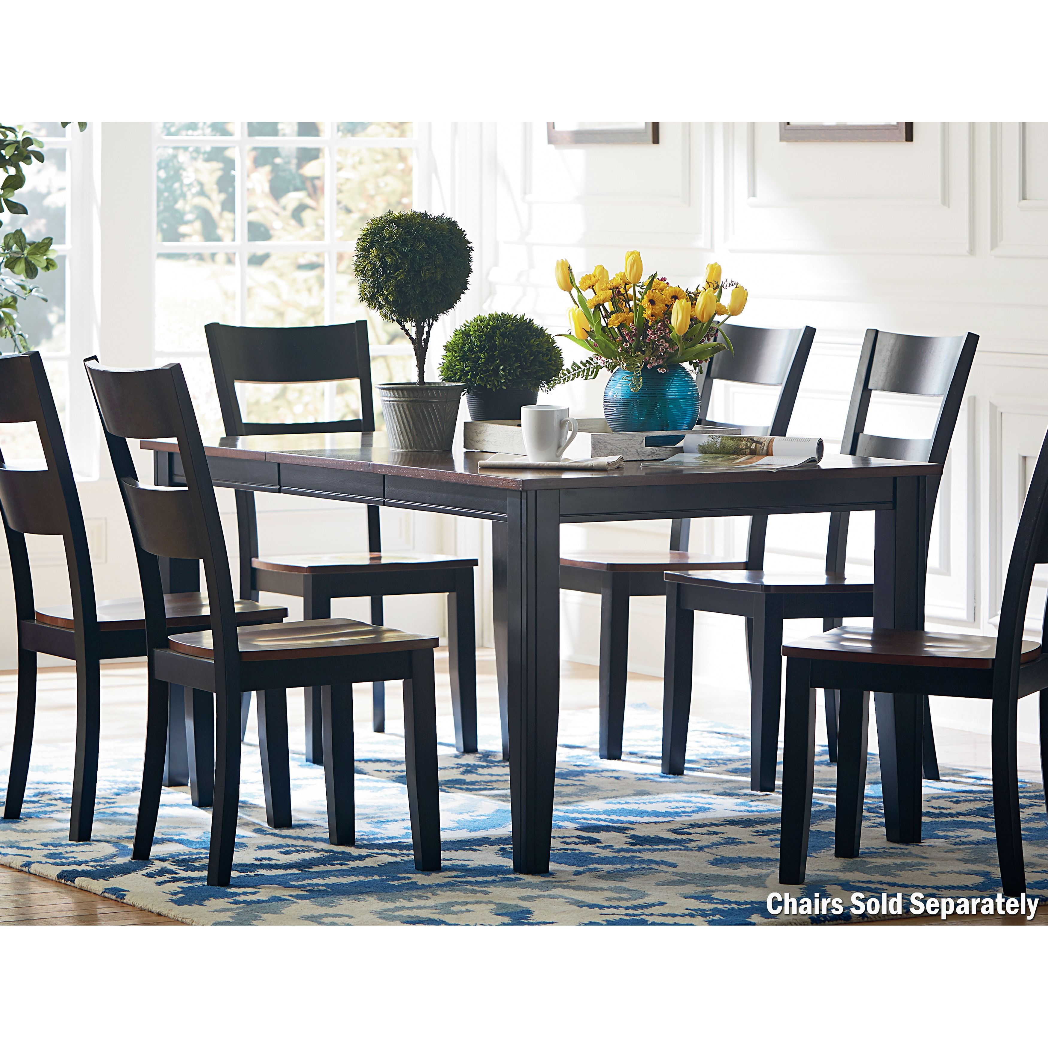 Three great finishes and two table styles