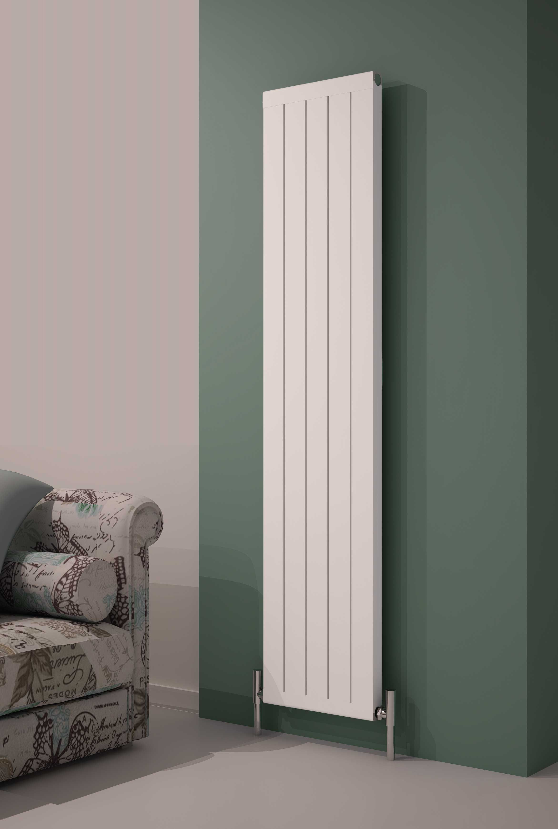 Order this Reina Serio Aluminium Vertical Designer Radiator today from Only  Radiators at a great price, top Customer Care & Free UK Delivery