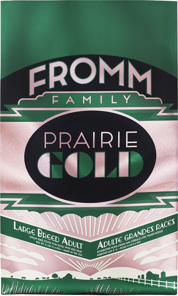 Fromm Prairie Gold Grain Free Large Breed Adult Dry Dog