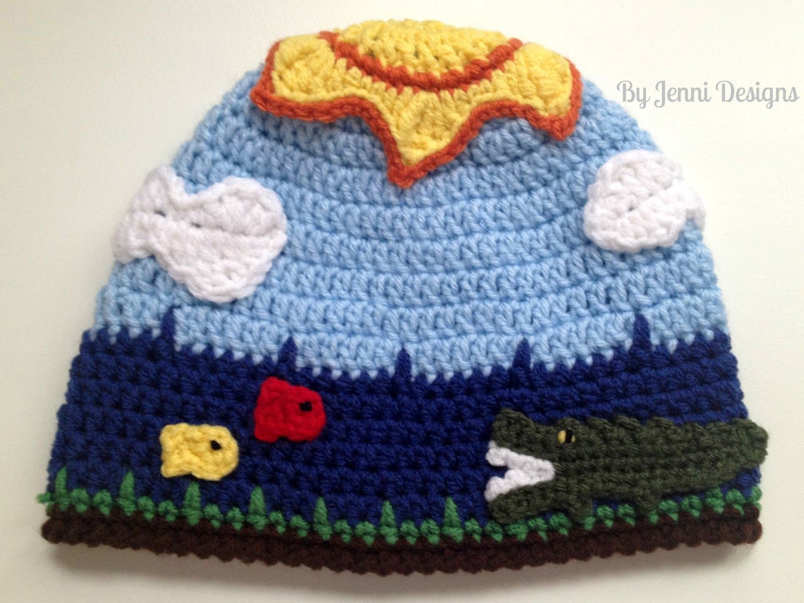 24 Marvelous Picture Of Crochet Alligator Hat Pattern Free Crochet