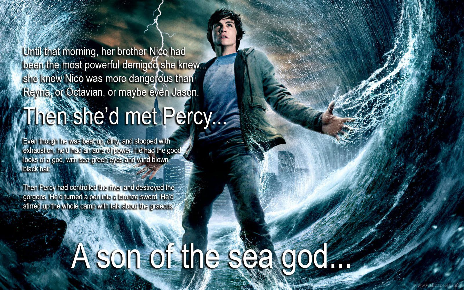 Percy Jackson Son Of The Sea God The Most Powerful