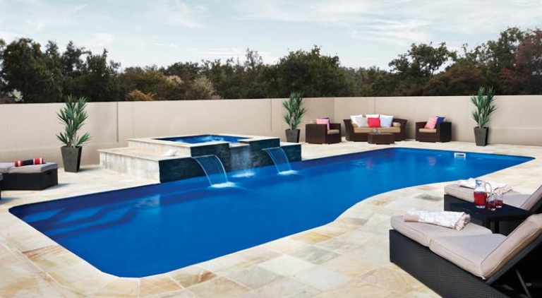 the best inground fiberglass swimming pools designs of