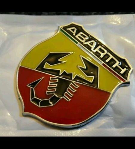 Abarth enamel lapel pin badge