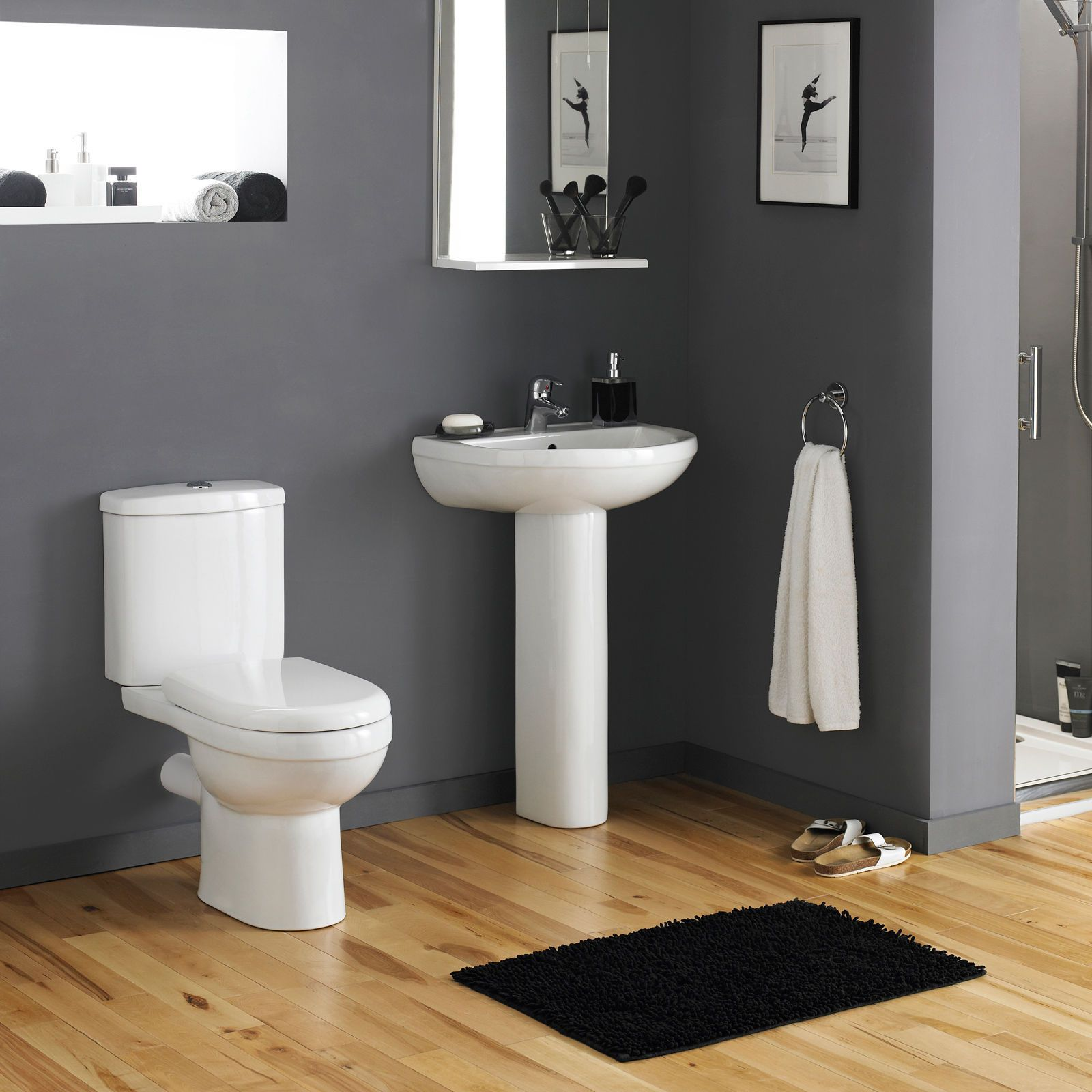 Standard toilet seat dimensions  Details about Bathroom WC Toilet Cistern Basin Sink and pedestal