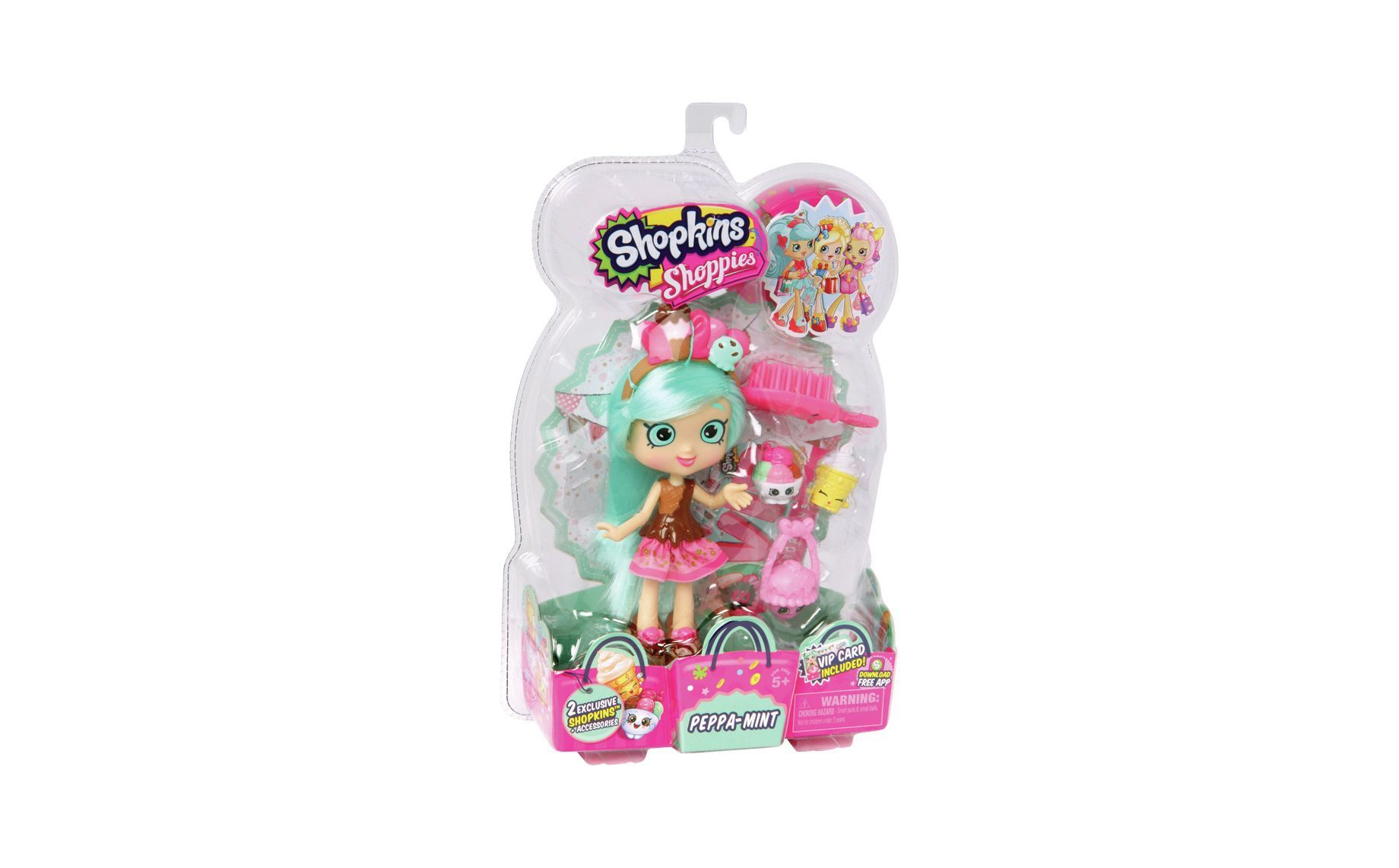 Buy Shopkins Shoppies Peppermint Doll Playset at Argos