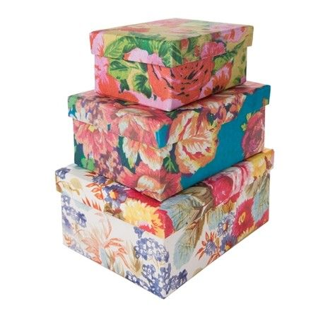 Cover shoe boxes with fabric for a cheap yet pretty for Fabric covered boxes craft