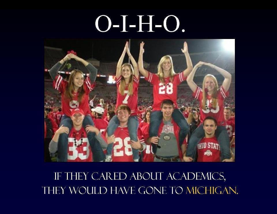 University Of Michigan Verse Ohio State Ohio State Michigan Ohio Ohio State Football