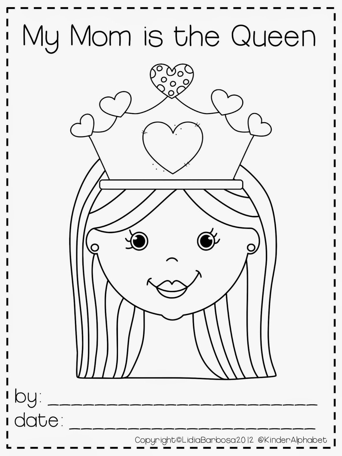 Kinder Alphabet Mother S Day Craftivity