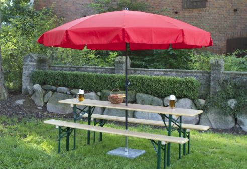 Beer Garden Table and Benches | Furniture | Furniture | Pinterest ...