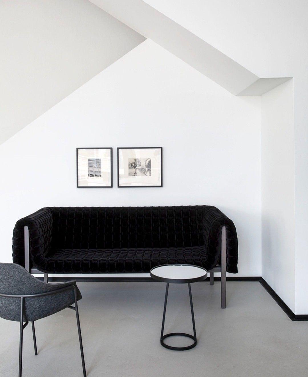 Image Of Ruche In Black Courtesy Annalizenelphotography Ligne Roset Sofa Furniture Contemporary Furniture