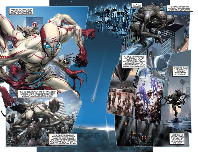 click for super-sized previews of Rai (2014- ) #6: Digital Exclusives Edition