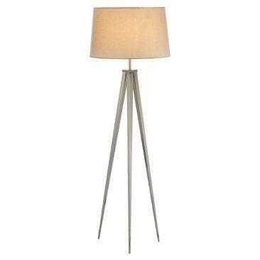 Director S Tripod Floor Lamp Steel Tripod Floor Lamps Silver Floor Lamp Nickel Floor Lamp