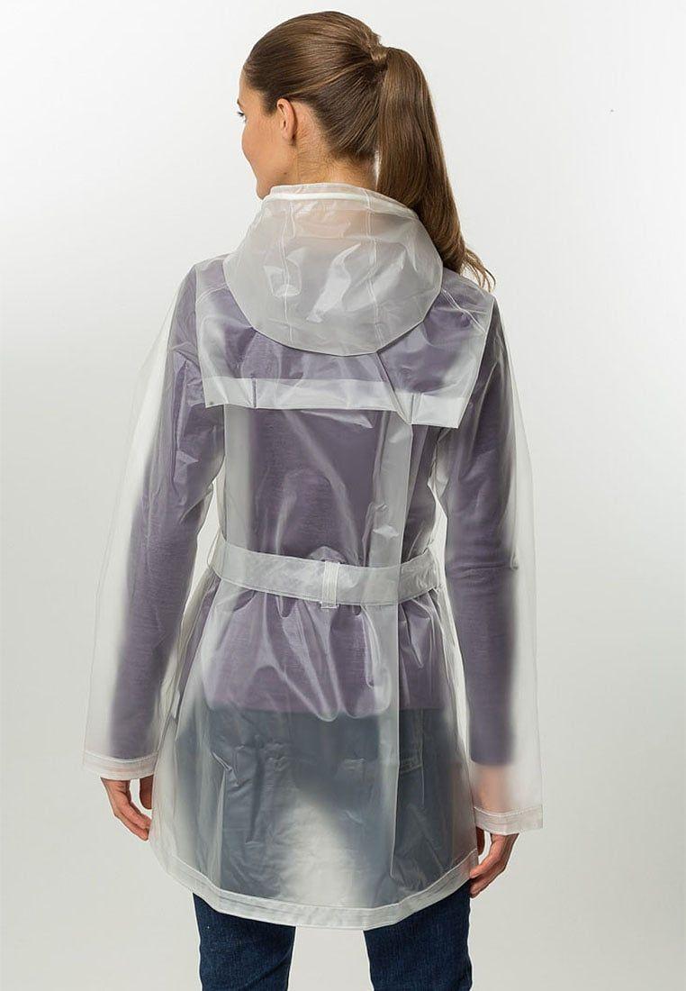 Helly Hansen transparent rain jacket | Plastic raincoats, rain ...