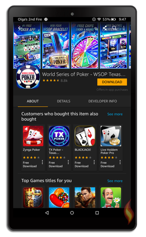 how to download free games on kindle fire