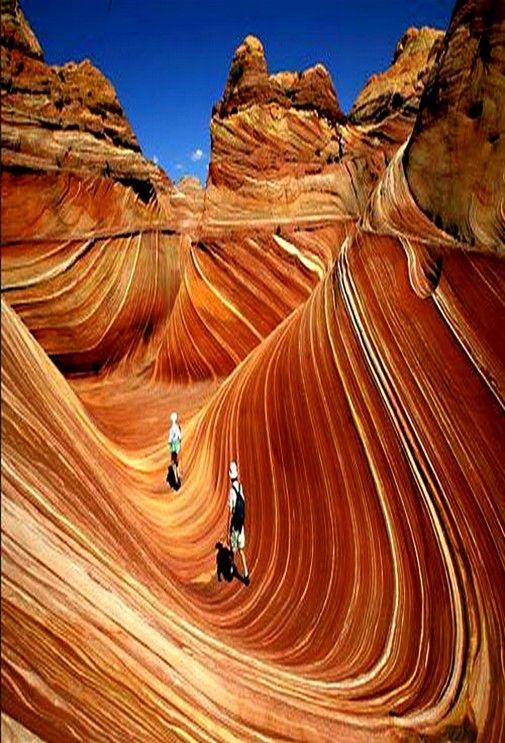 The Wave Arizona Paria Canyon Vermilion Cliffs Wilderness