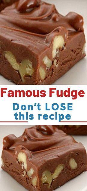 Famous Fudge Don T Lose This Recipe This Is A Very Simple Fudge Recipe Using Evaporated Milk And Chips Fudge Recipes Fudge Recipes Easy Best Fudge Recipe