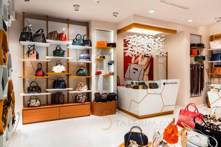 daf15877097b2 çanta mağazası tasarımları   Çanta Mağazası Dekorasyonu ve ...
