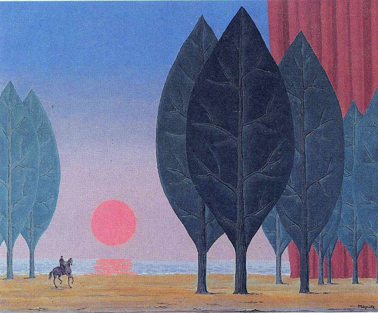 The hesitation waltz - Rene Magritte - WikiArt.org | Magritte art, Magritte  paintings, Rene magritte