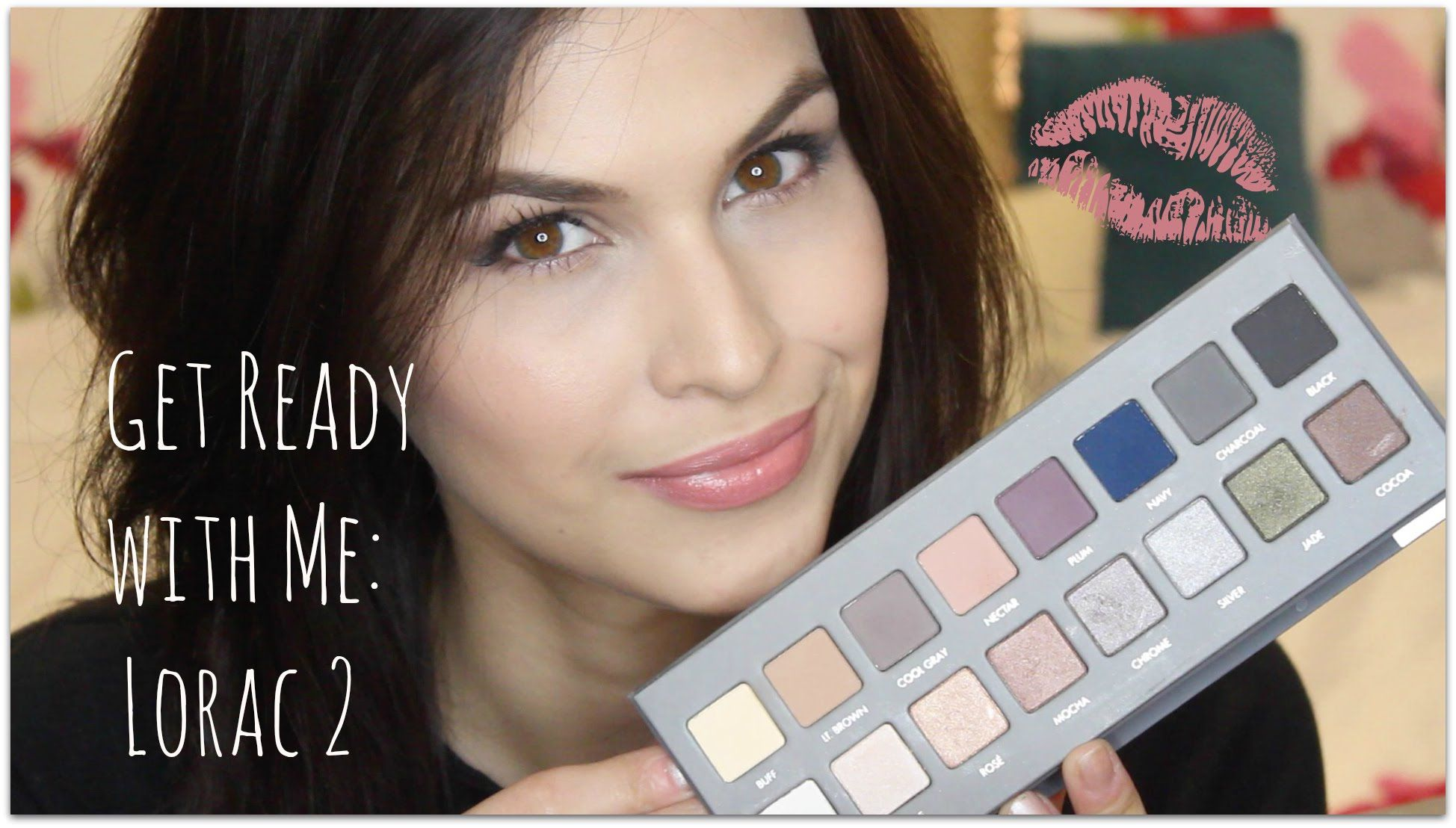 Get Ready with Me Olive Green Smokey Eye feat. Lorac Pro
