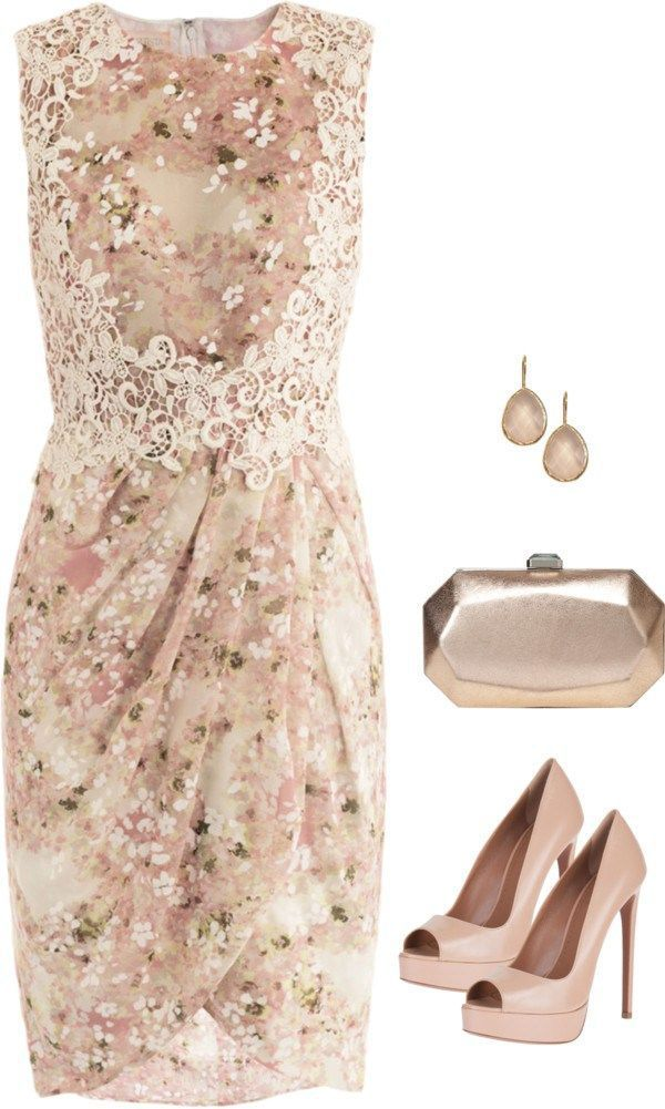 c2f658919fa 21 Lovely Looks for Summer Weddings | Clothes and outfits | Fashion ...