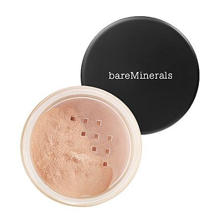 "Bare Minerals Bisque Concealer- love love love! This stuff covers anything and everything (including bad acne) without looking ""caked-on"" or ""fake"". And it stays on alllll day long! The best concealer out there ladies!"