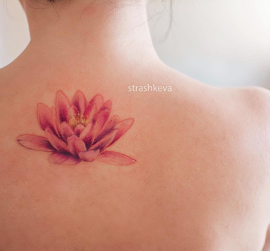 Tattoo Strashkeva Flower Lotos Lotostattoo Color Colortattoo Dneprtattoo Tattoos Tattoo Artists Lotus Tattoo