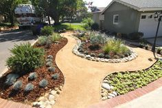 crushed granite front yard google search xeriscaping