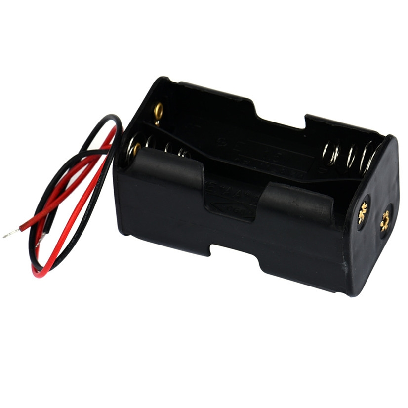 0 4 Buy Here Factory Price 2 Slot 4 X Aa Battery Back To Back Holder Case Box With Wire Leads Nov3 Drop Shipping Battery Battery Holder Battery Cases