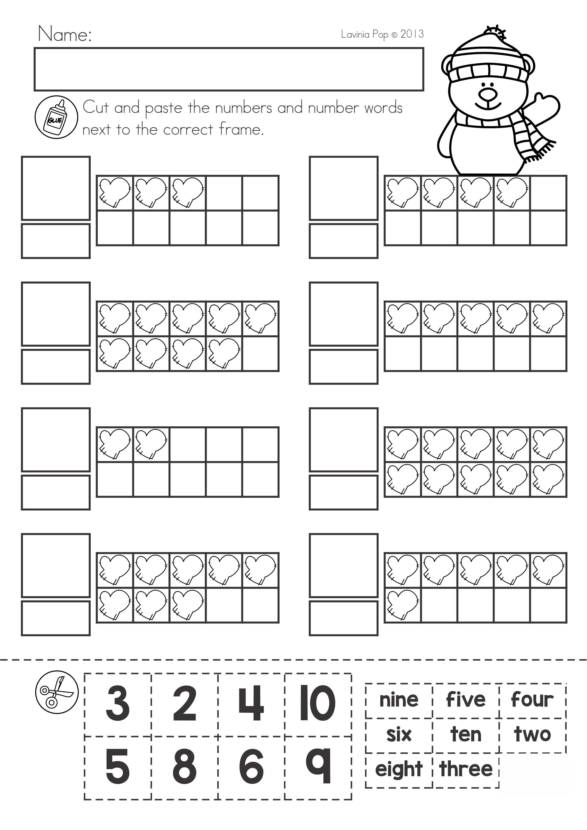 Winter Math Worksheets Amp Activities No Prep