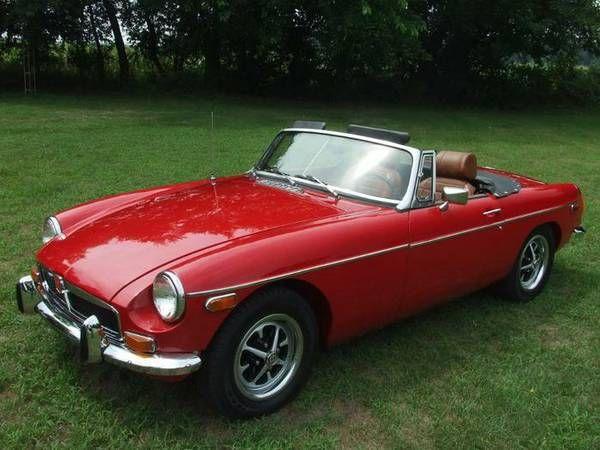 1974 Mgb 10 750 Ellenboro Nc Forsale Craigslist Mg Cars Car Find Bmw Car