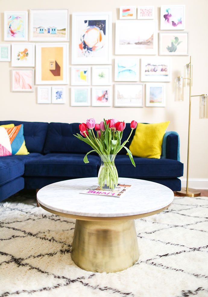 10 Living Room Accents To Snag Now From West Elm TABLES - marmor wohnzimmer tische