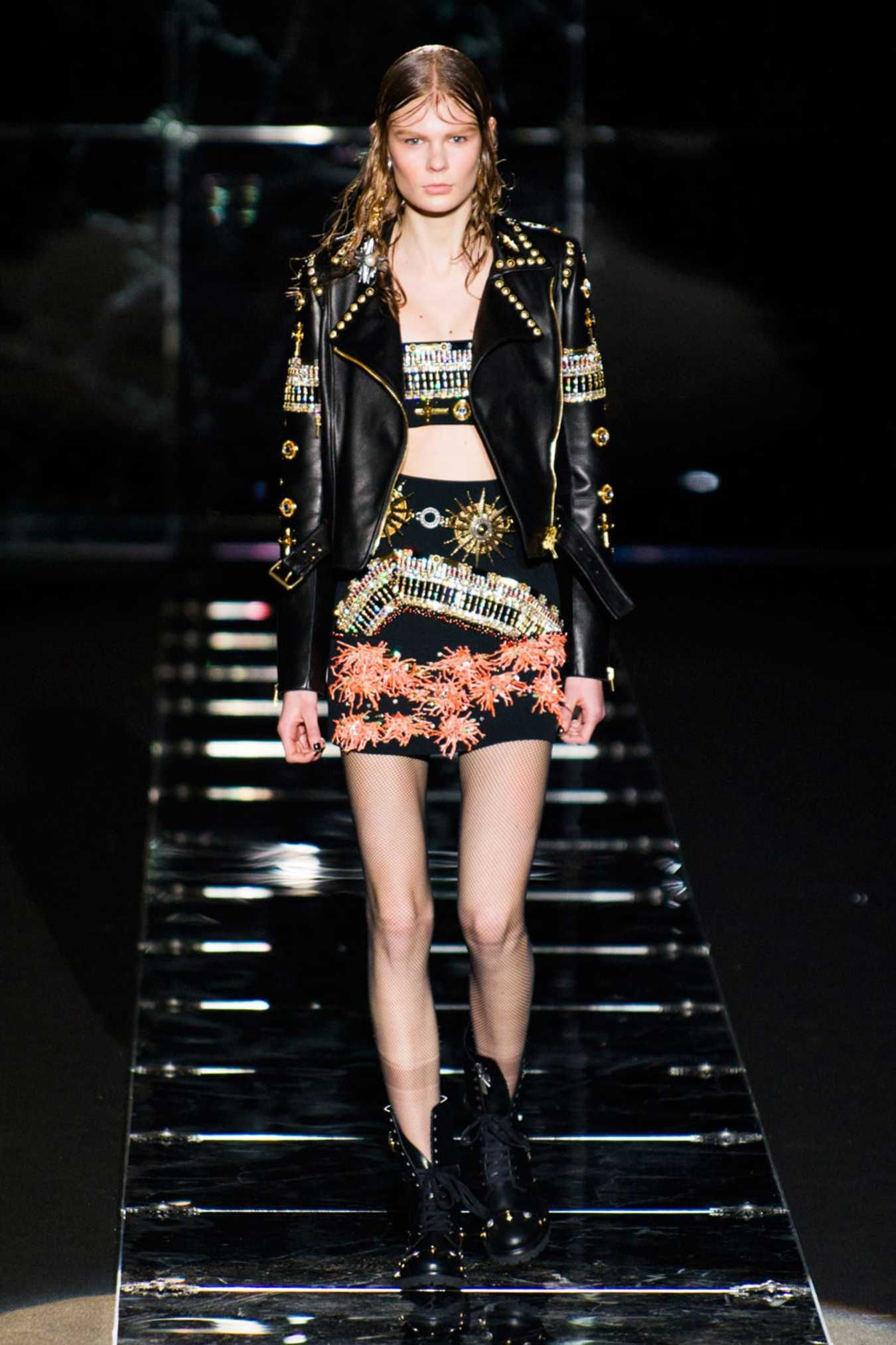 A look from Fausto Puglisi's fall 2015 collection. Photo: Imaxtree.