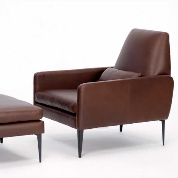 Smythe Leather Chair