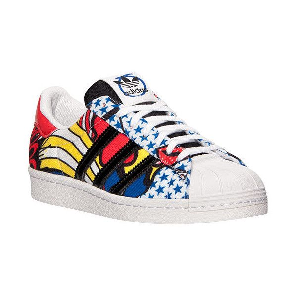 Women's adidas Superstar '80s Rita Ora Casual Shoes (1,490 MXN) ❤ liked on