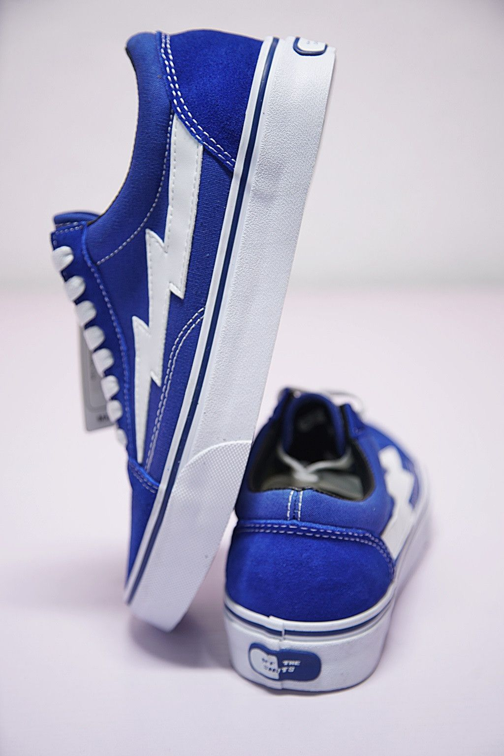 7d75547e2b681d VANS REVENGE X STORM LOW TOP BLUE WHITE SWOOSH 008243190