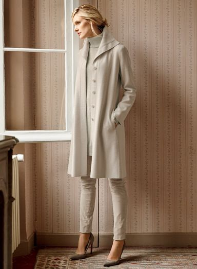 cafde48b037 A sophisticated answer to changing seasons, our soft felted alpaca (60%) and