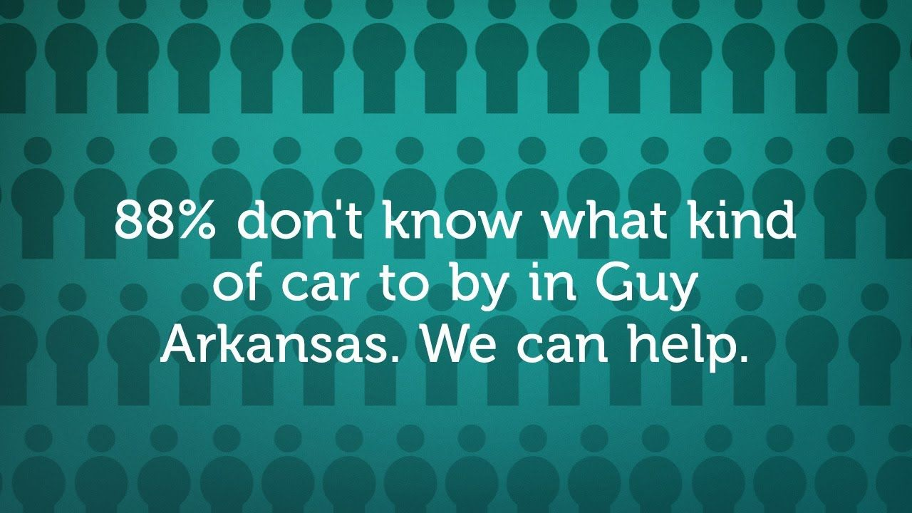Guy Arkansas No Money Car Lots. Low Money down Car Dealers