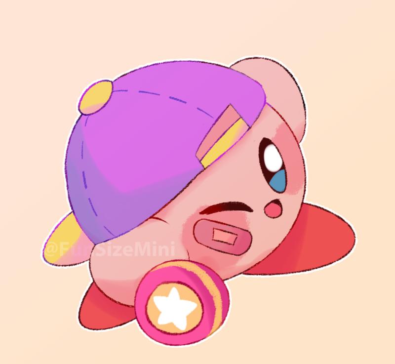 Yoyo Kirby by itzFunSizeMini Kirby character, Kirby