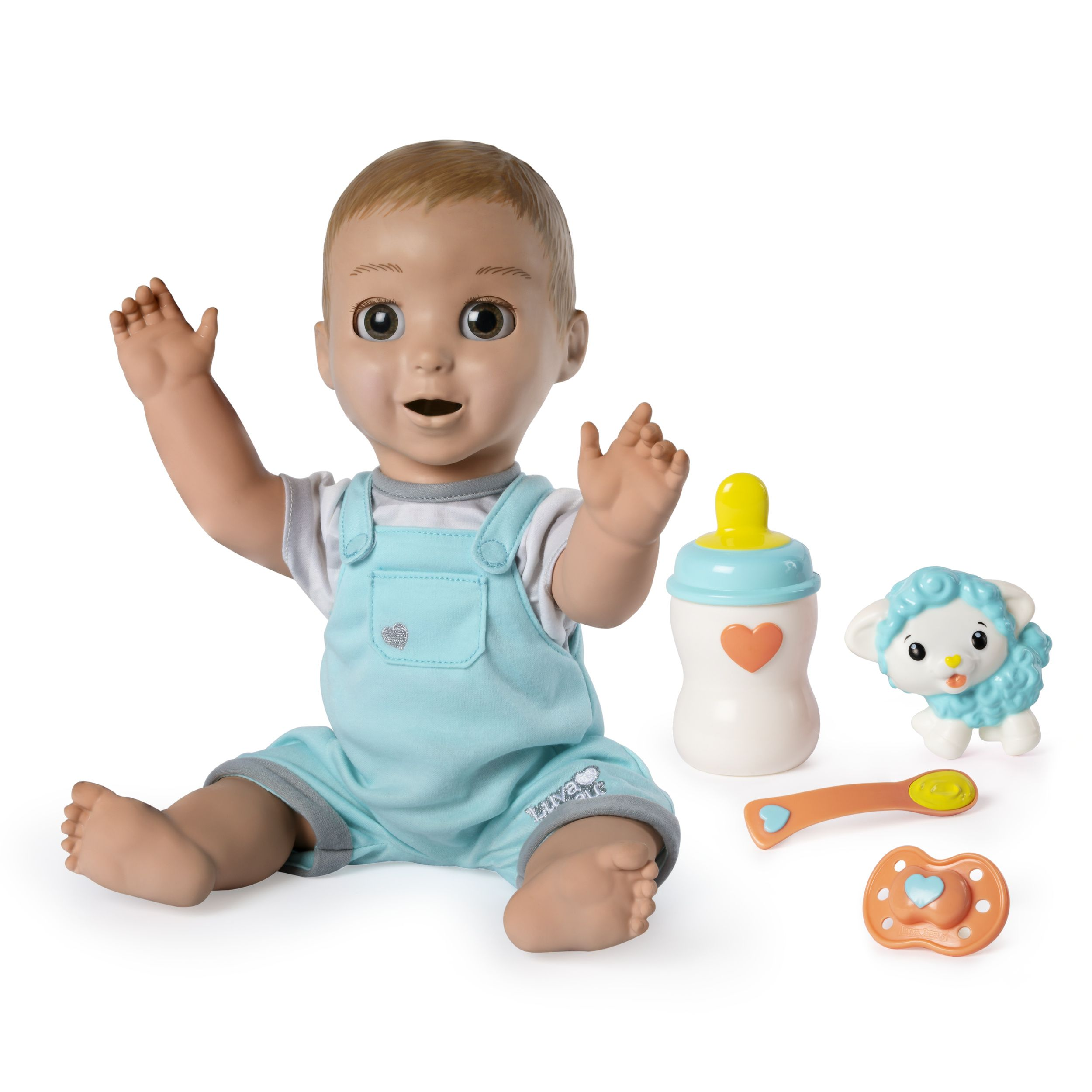Luvabeau Interactive Baby Doll For Ages 4 And Up Walmart Com Interactive Baby Dolls Interactive Baby Baby Dolls