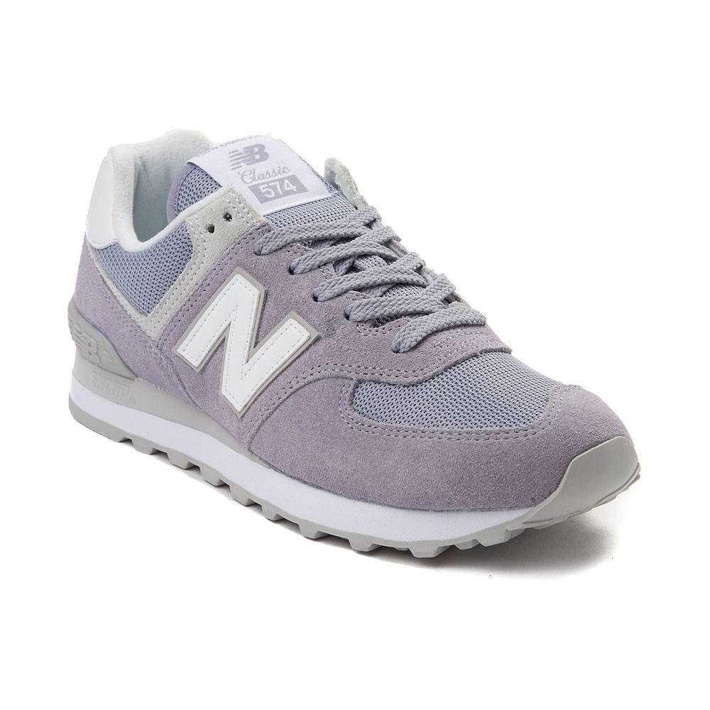 Womens New Balance 574 Classic Athletic Shoe Lavender