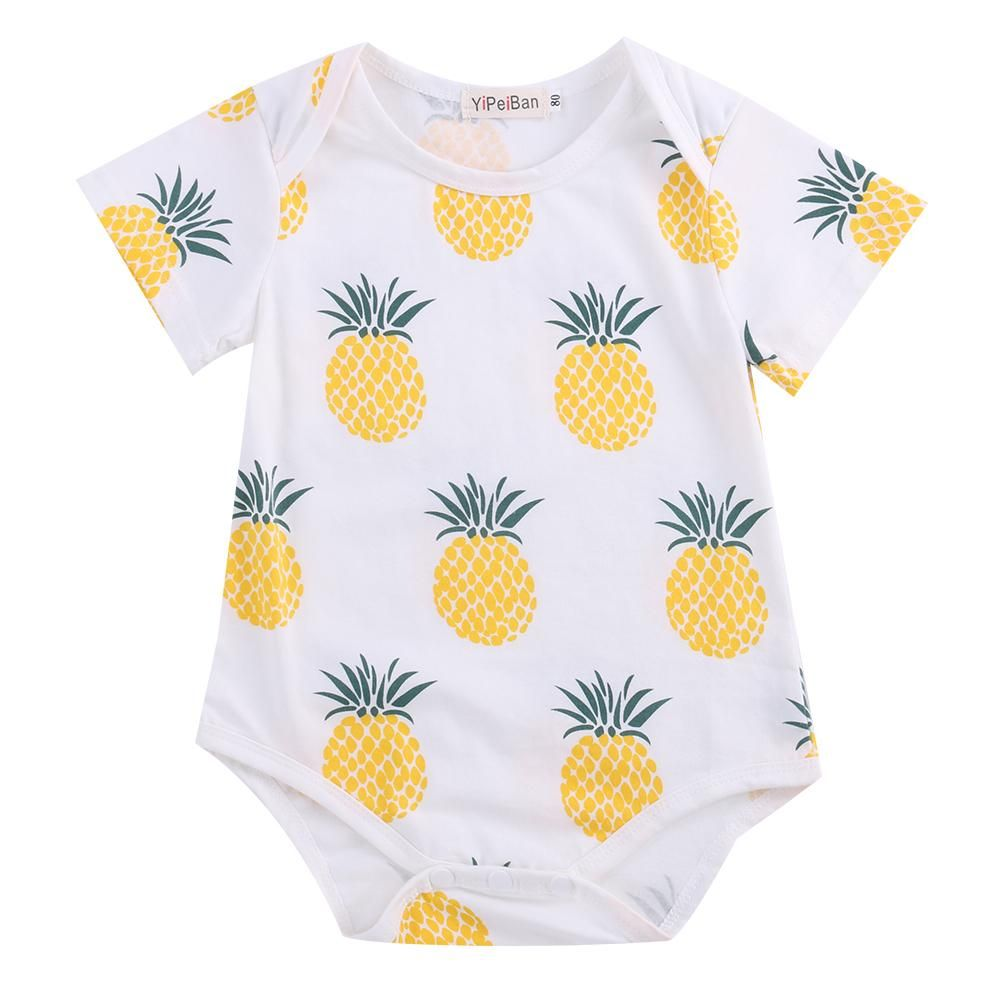 ca8d1fc19fb Fruity Pineapple Romper - Present Baby
