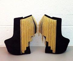 Wear high heels everywhere /